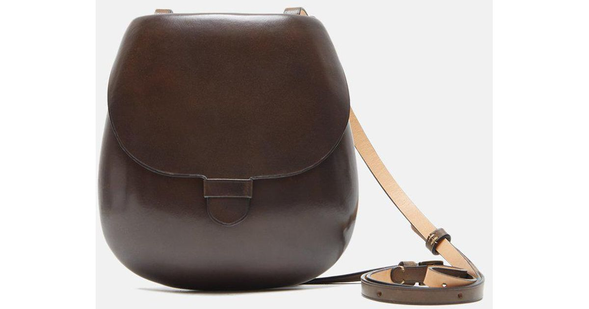 Lyst - Lemaire Cartridge Bag in Brown