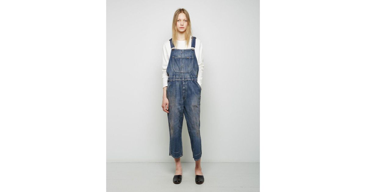 be1eb4406fc7 Lyst - Chimala Denim Overall in Blue