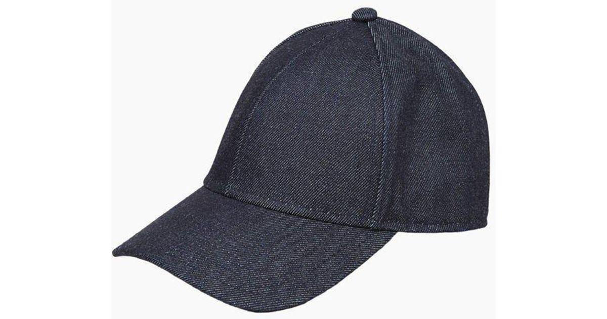 2918e23bc56 Lyst - Acne Studios Camp Denim Hat in Blue for Men