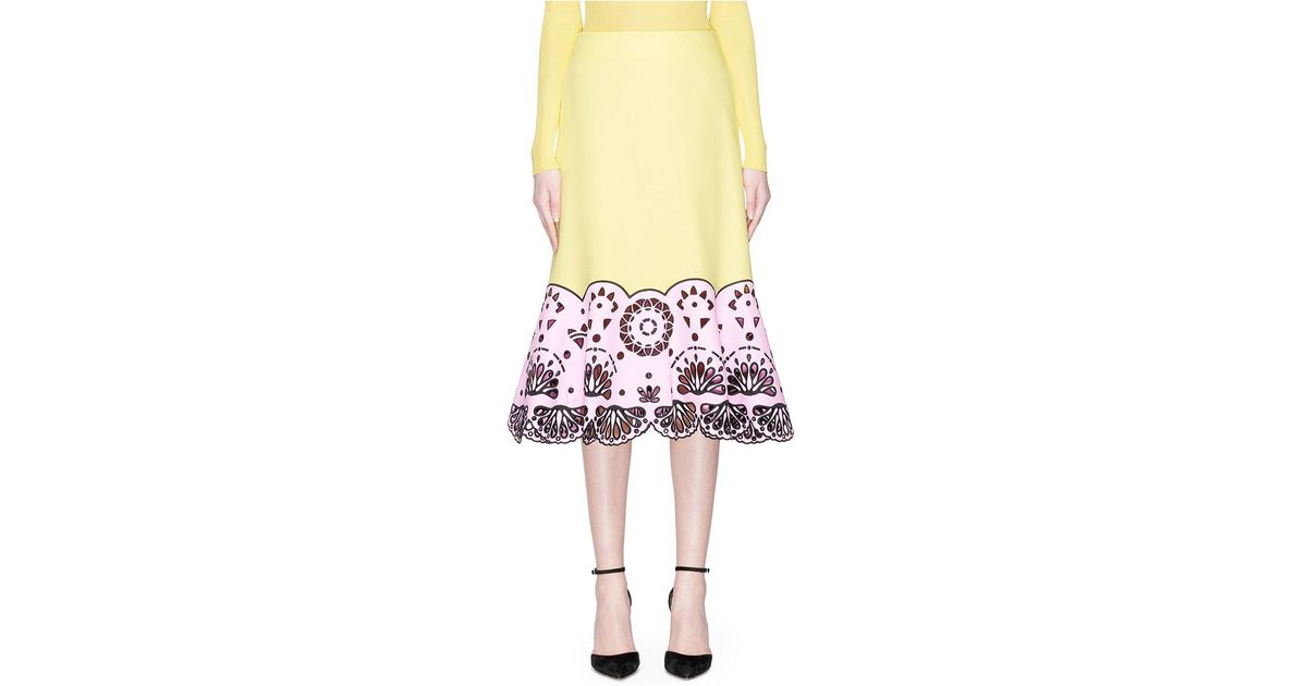 embellished colour-block mini dress - Multicolour Emilio Pucci Free Shipping Manchester Q1xBhykYq