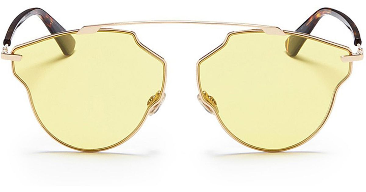 0821a326e015 Dior So Real Pops Sunglasses in Metallic - Save 21.315789473684205% - Lyst