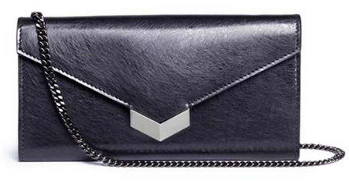 Jimmy Choo London Pre-owned - Leather crossbody bag VdO8hewnEW