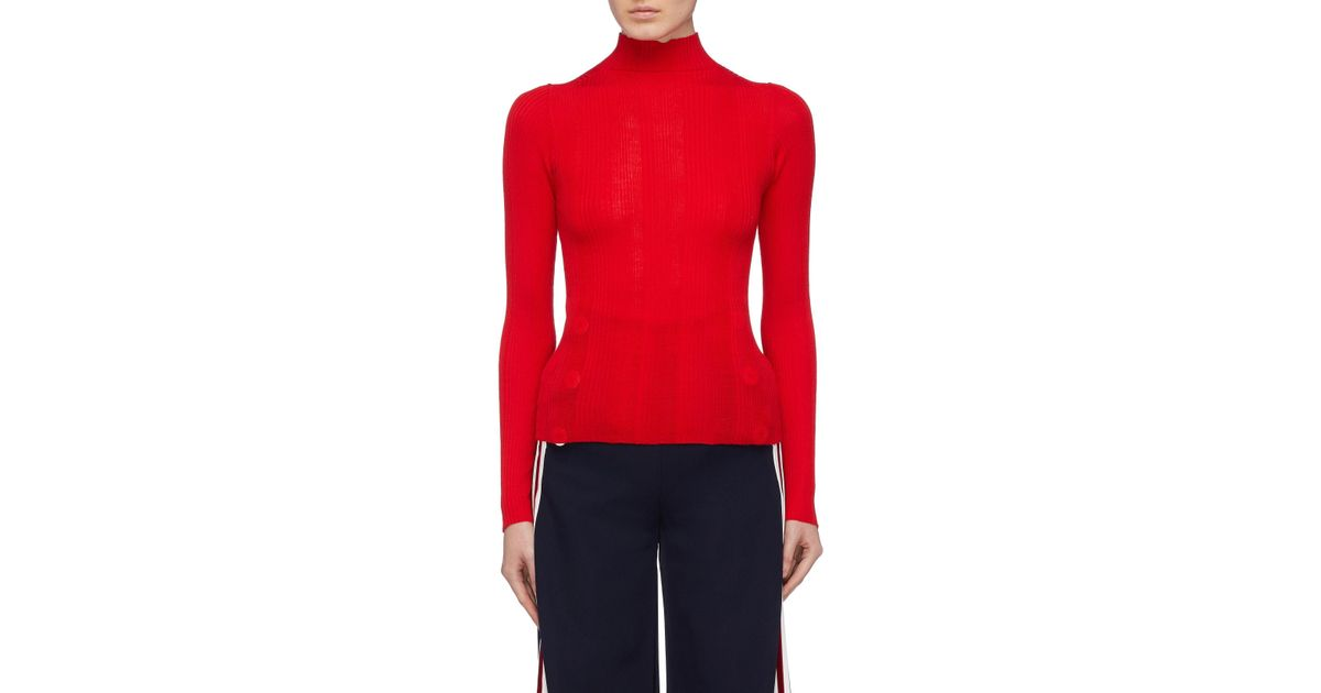 dc8ae084f0b1 comme-moi-Red-Sheep-Wool-Rib-Knit-Turtleneck-Top.jpeg