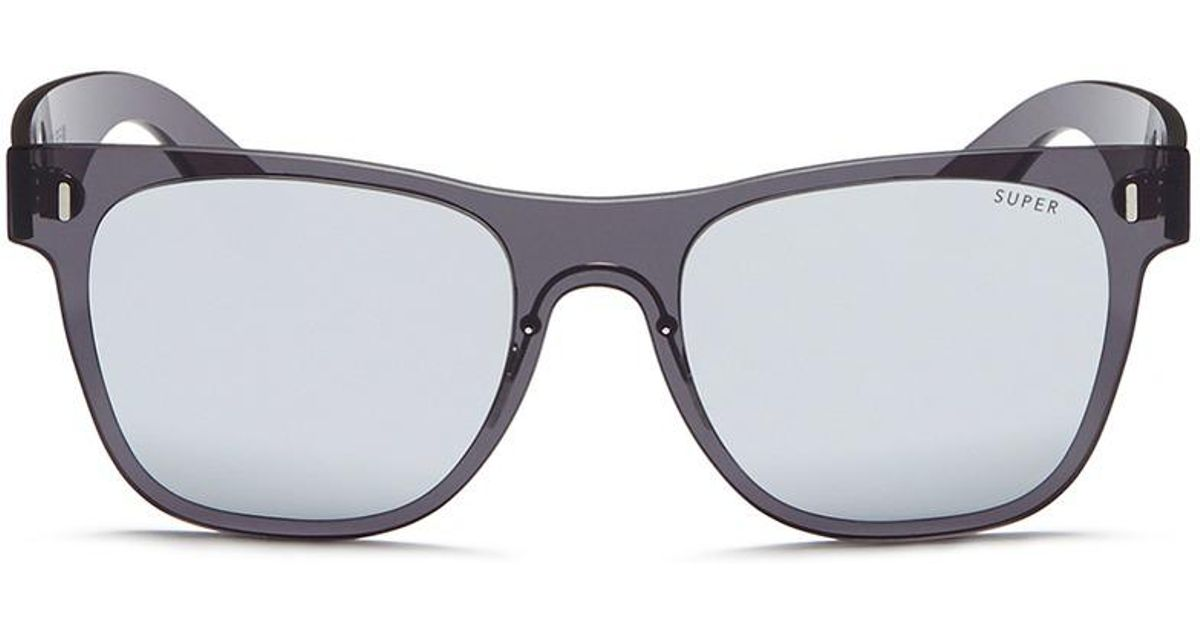 ef450a1501 Lyst - Retrosuperfuture  duo-lens Classic  Rimless All Lens D-frame Mirror  Sunglasses in Black for Men