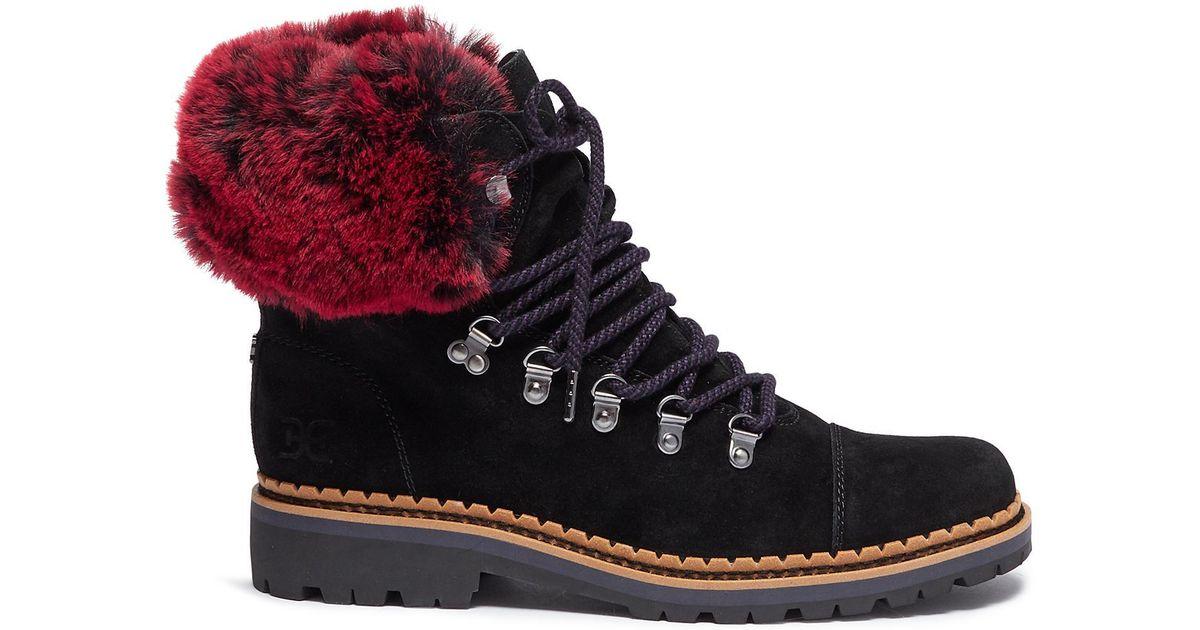 9b464f78b Sam Edelman Bowen Fashion Boot in Black - Save 62% - Lyst