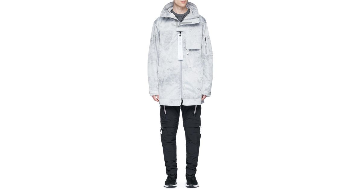 Lyst - Adidas Originals 3-stripes Stone-washed Water-repellent Jacket for  Men 33390cc7f607c