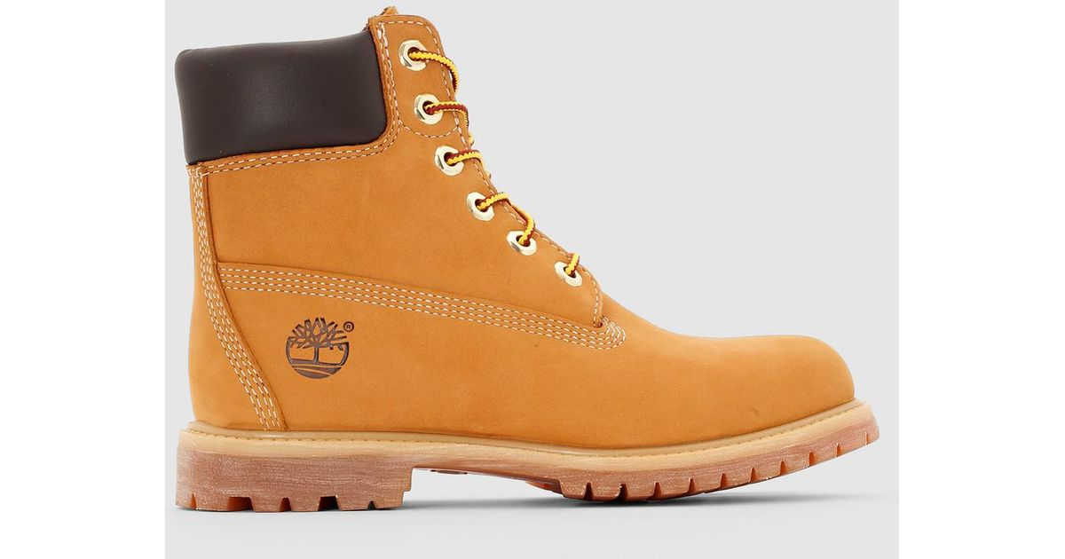 229be93ecfad Lyst - Timberland 6 In Premium Leather Ankle Boots