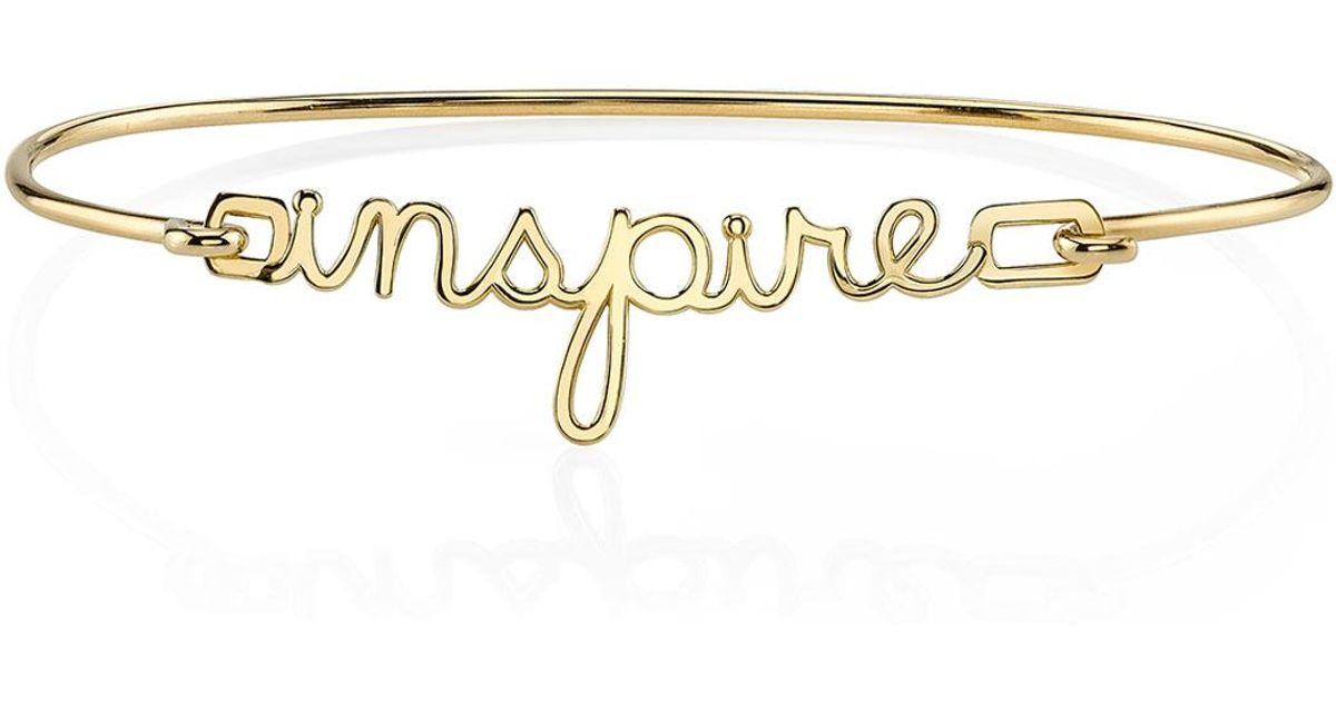 Sydney Evan 14k Pure Rose Gold Inspire Bracelet SAa0s8NBa