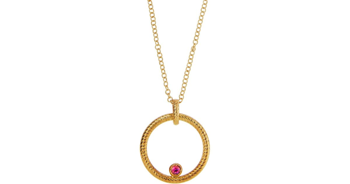 product pendant ruby and products boyz cz golden image chain jewelry