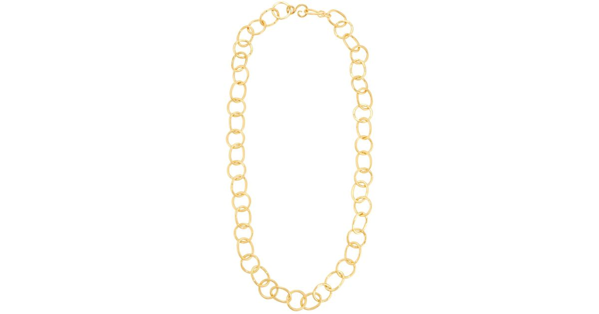 Stephanie Kantis Legend 24k Gold-Plated Extra Long Circle-Link Necklace rIoFlkQQl