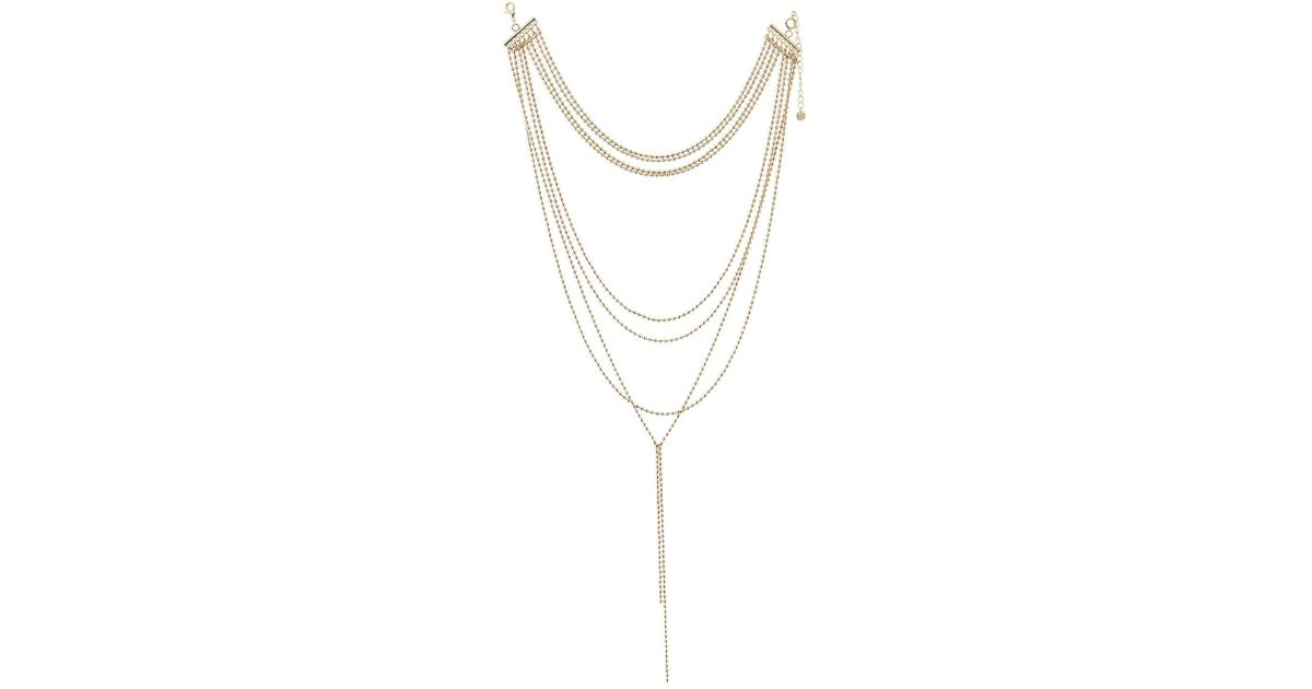 Lydell Nyc Ball-Chain Layered Necklace TWxpO
