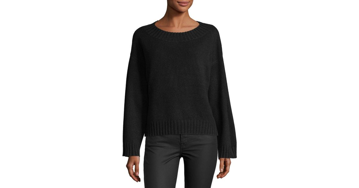 Cashmere Pullover In Vince Sweater Black Lyst Boxy rWeEoQdxCB
