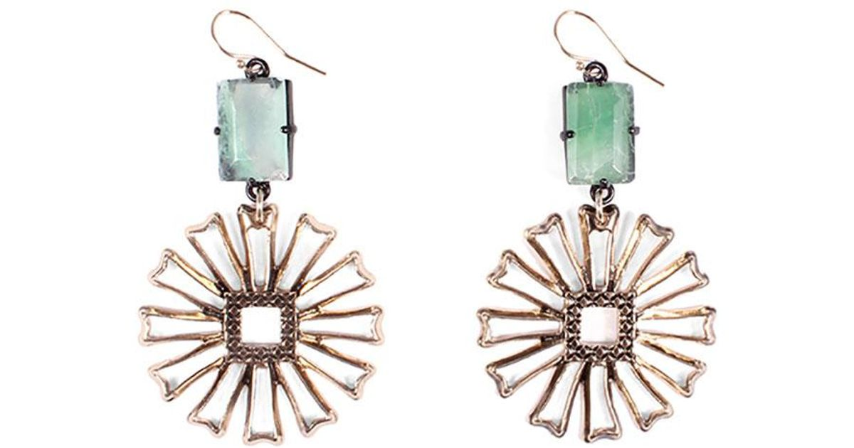 Lulu Frost Patti Double Drop Earrings tRqqG
