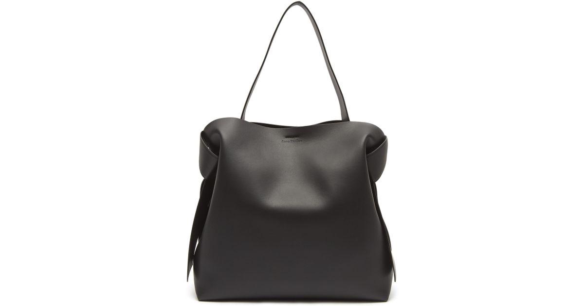 Musubi Maxi Bag in Brown Calf and Lamb Leather Acne Studios 2vwXPOhZ