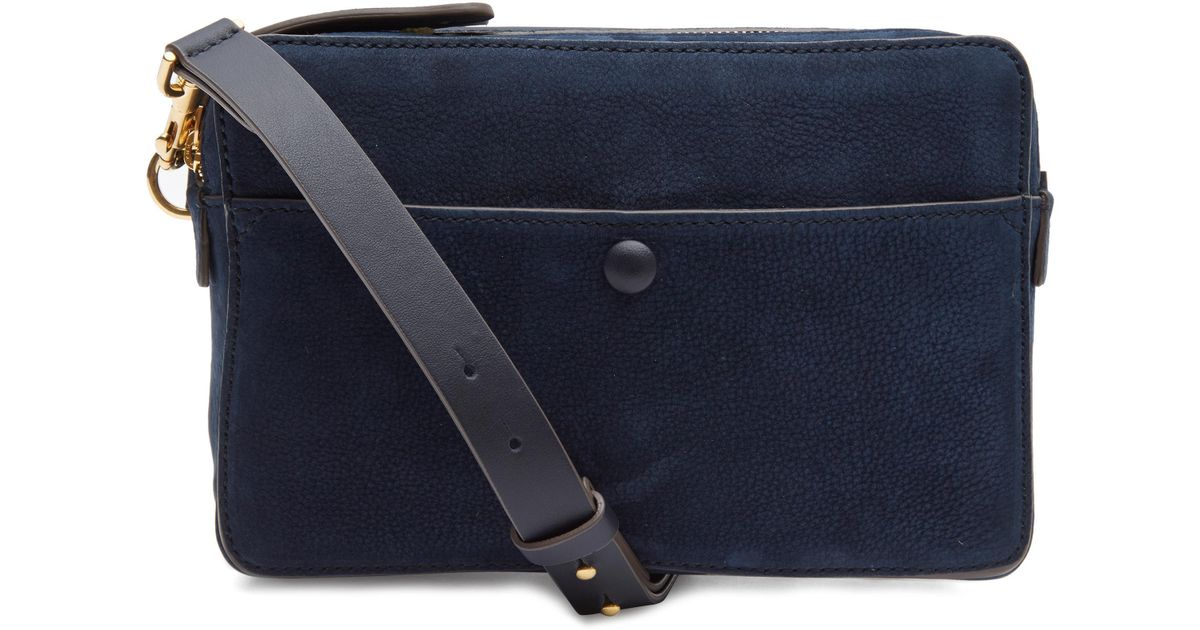 998b42fa81 Anya Hindmarch Double Stack Crossbody Bag in Blue - Lyst