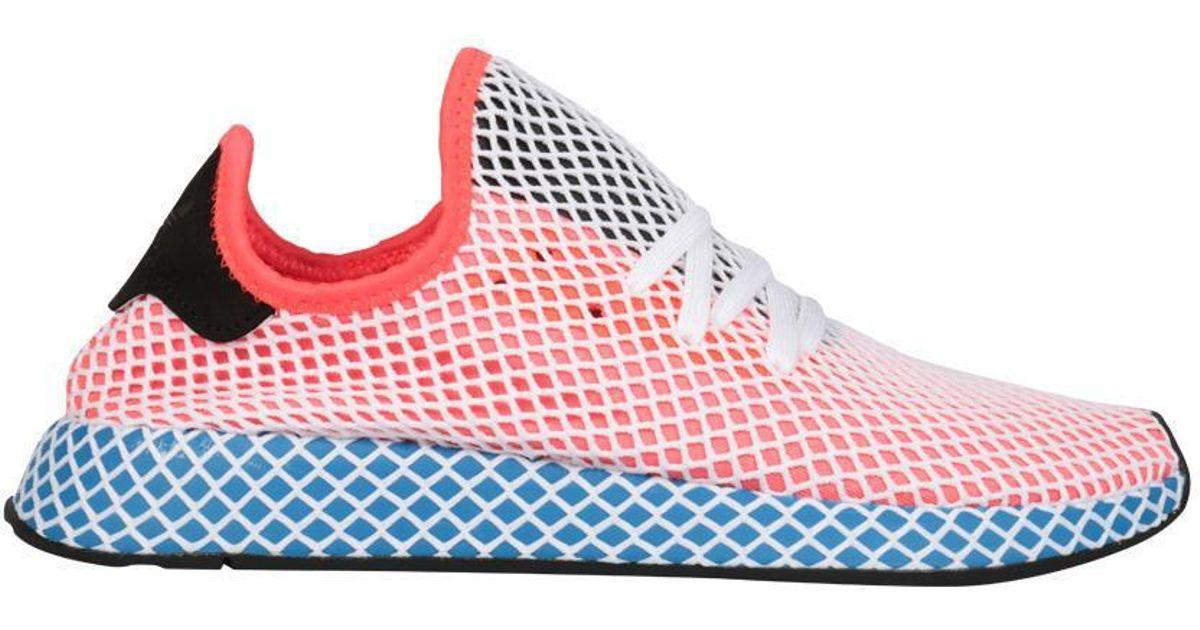 cdca6cae2957a Lyst - adidas Originals Deerupt Sneakers in Red