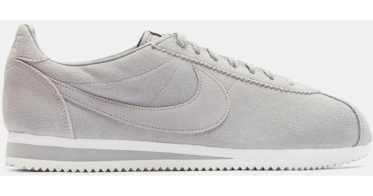 buying new 2018 shoes hot new products nike cortez grey suede