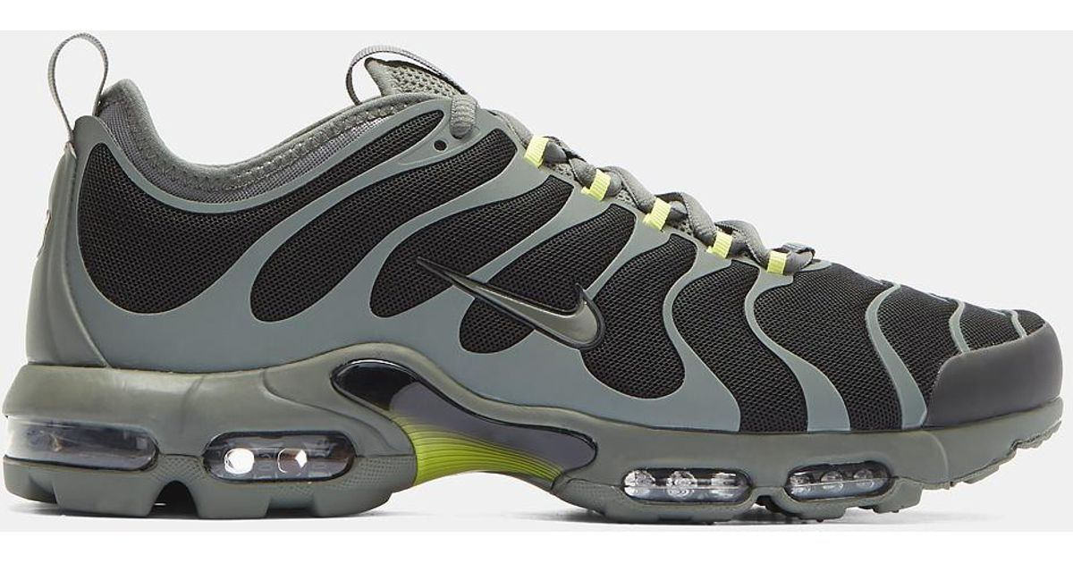 Lyst - Nike Air Max Plus Tn Ultra Sneakers In Black And Grey in Black for  Men d65db5a62ff7