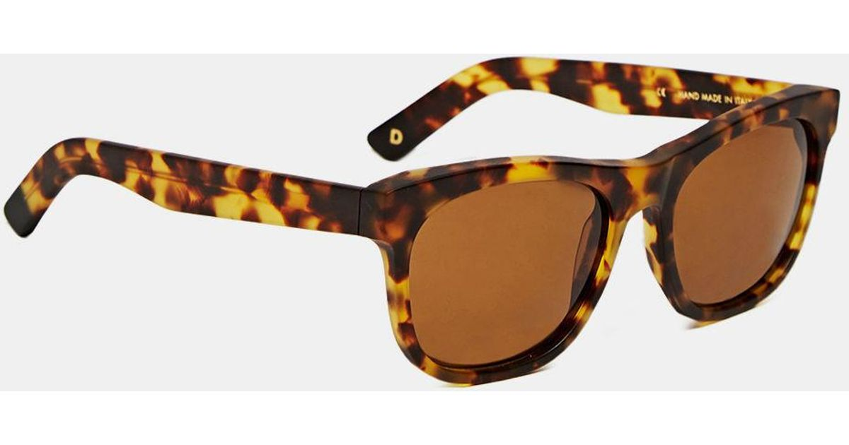 ffc3abdb375 Lyst - Dick Moby Unisex Lax Sunglasses From Aw15 In Matte Havana in Brown  for Men
