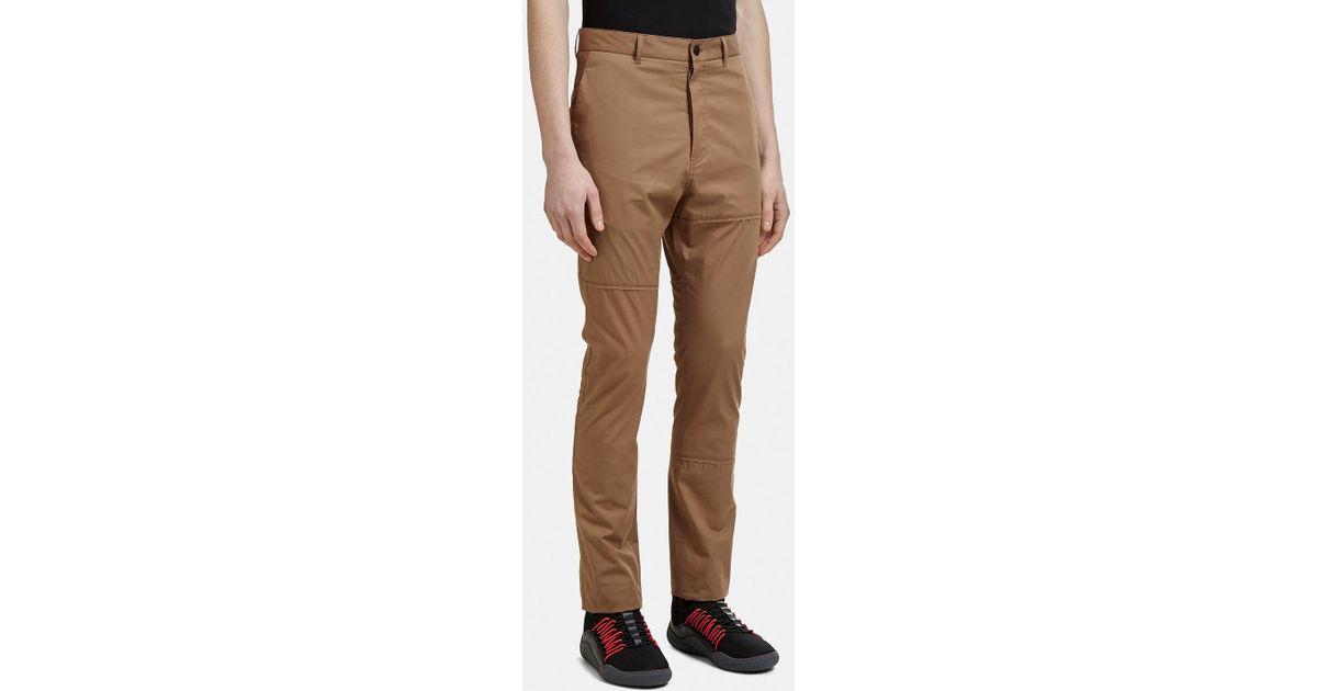 Patchwork Slim-Fit Pants Lanvin a47MiNM2LZ