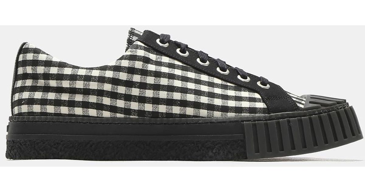 Checked Shell Toe Sneakers Adieu 0wfTki