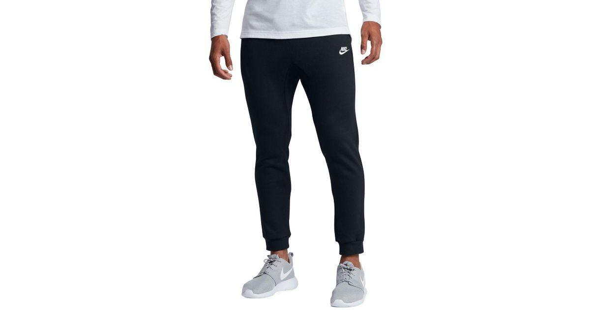 0201332b Nike Sportswear Club Fleece Joggers in Black for Men - Lyst