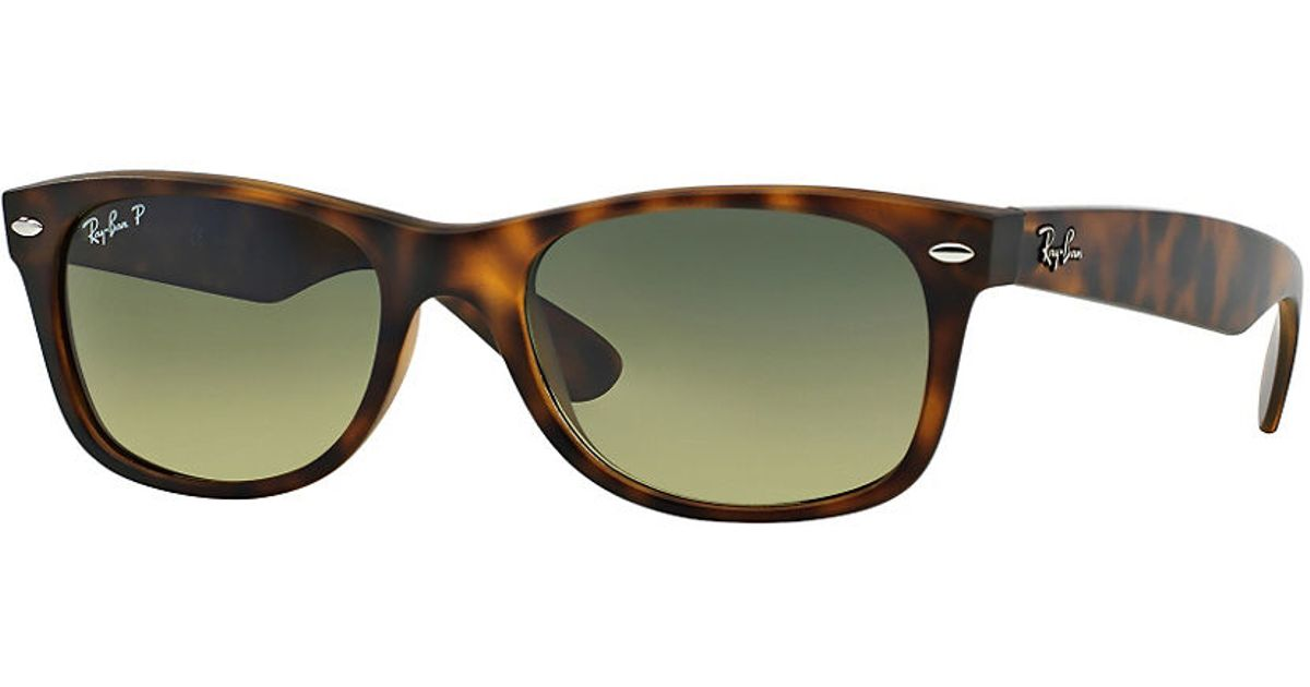 The distinct shape is paired with the traditional Ray-Ban signature logo on the sculpted temples. After its initial design in , the Ray-Ban Wayfarer quickly endeared itself to Hollywood filmmakers, celebrities, musicians and artists,solidifying its iconic status for years to come. FIND OUT MORE.