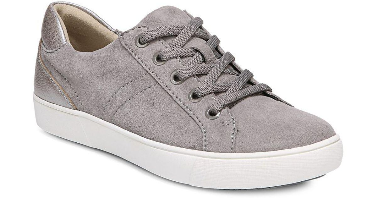 Naturalizer Morrison Sporty Suede Sneakers in Lyst Gray Lyst in 272dd9
