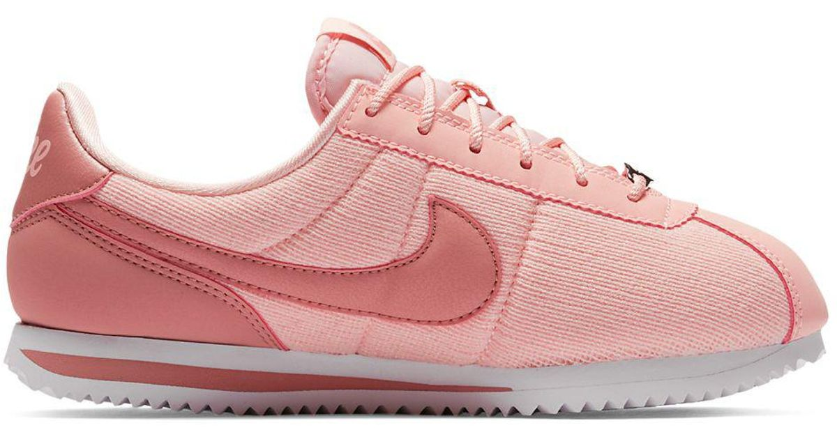 Nike Girl s Cortez Basic Text Se Shoes in Pink for Men - Lyst 6b979713a