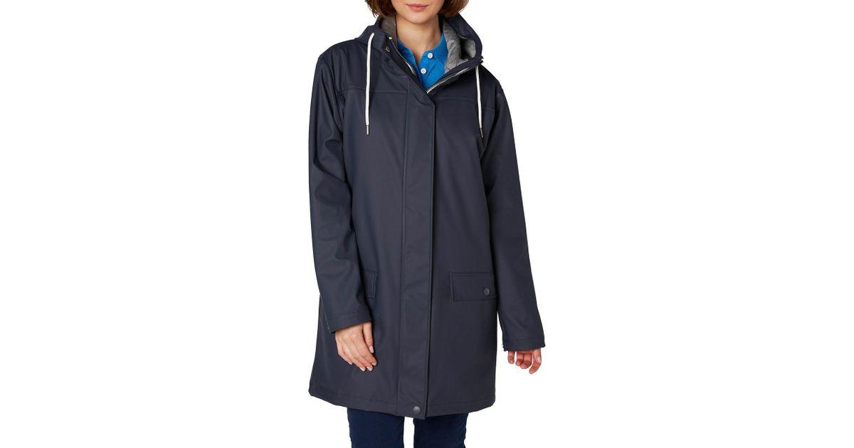 58d1ae3f Helly Hansen Dunloe Rain Jacket in Blue - Lyst