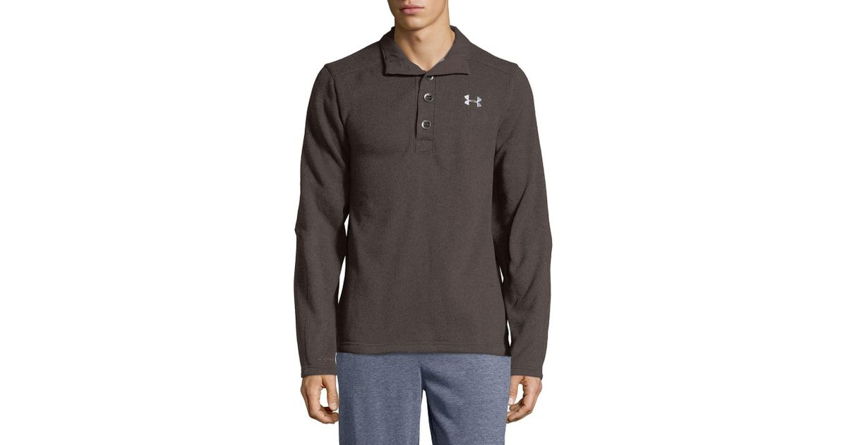 Lyst Under Armour Storm Specialist Dual Layer Sweater In Brown For Men