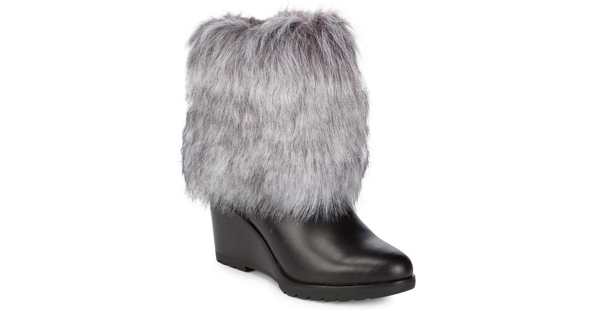 sorel Parkcity Faux Fur Leather Boots ivrKyDZ2e1