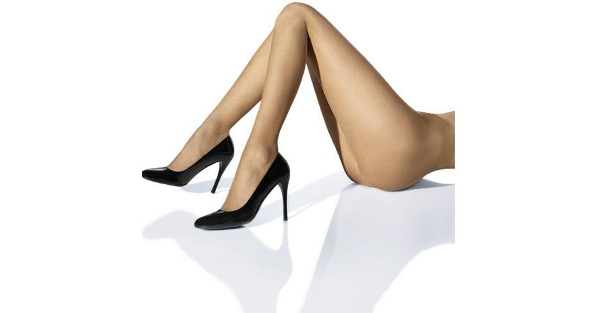 95ea87824 Lyst - Wolford Naked 8 Ultra Sheer Tights in Black