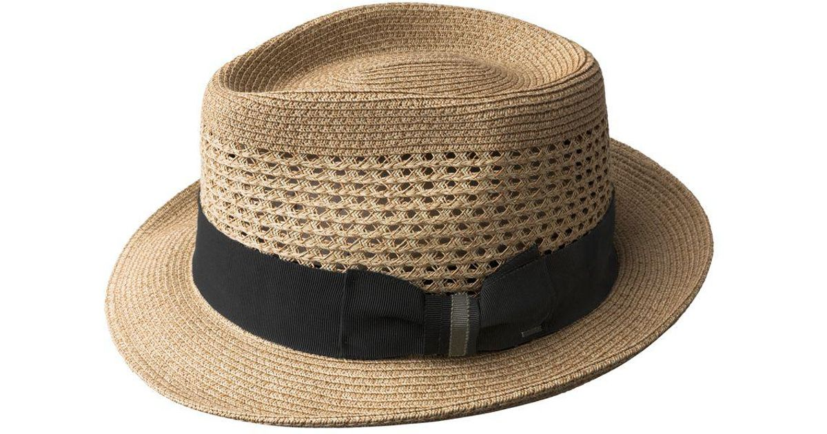 3265bc909e212 Bailey of Hollywood Breed Wilshire Toyolene Braided Fedora for Men - Lyst