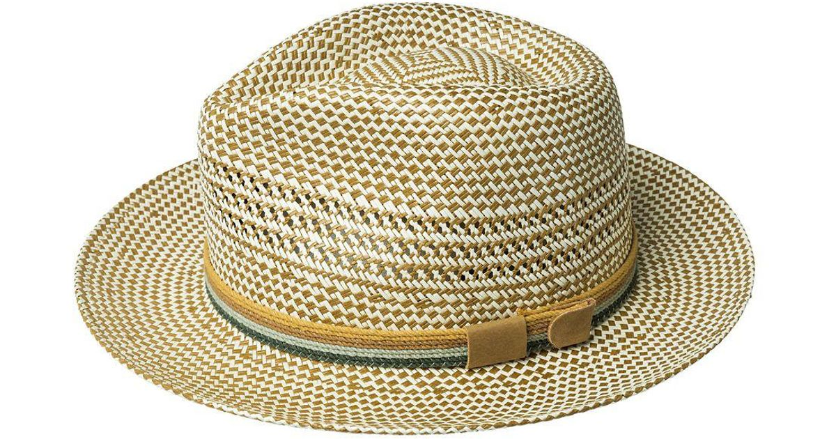 2ace6619f9f116 Lyst - Bailey of Hollywood Rudi Ventilated Hat for Men