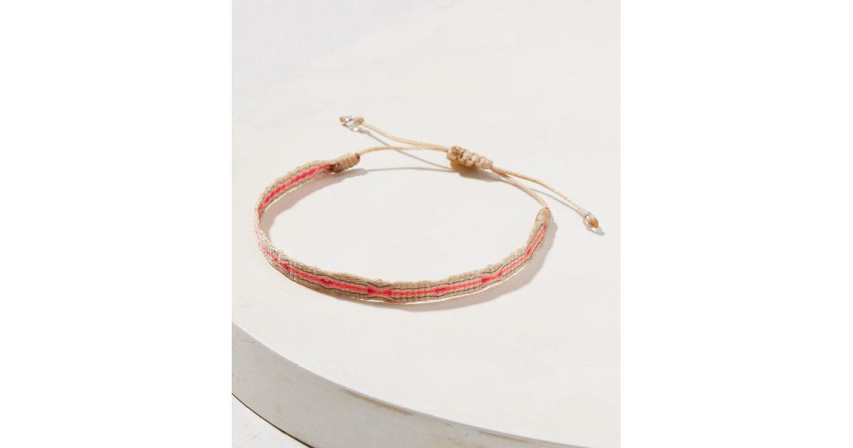 op voet beelden van bespaar grote verscheidenheid aan modellen Lou & Grey Pink Guanabana Handmade Argantina 120 Bracelet