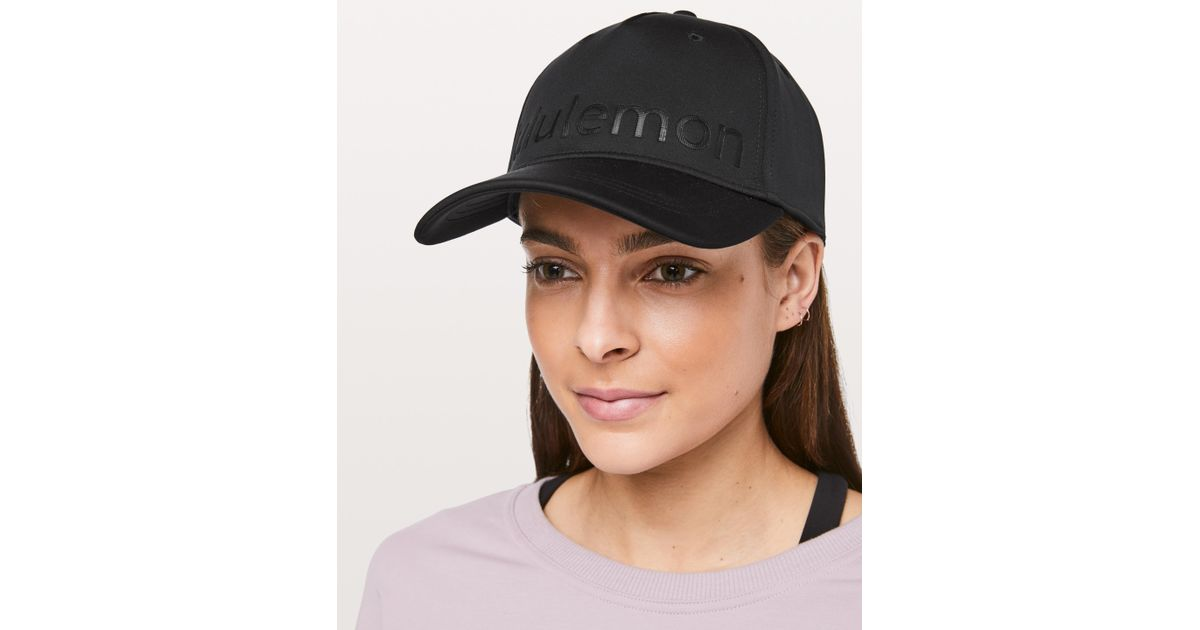 5fc8cbd927e02 lululemon athletica Baller Hat  squad Online Only in Black - Lyst