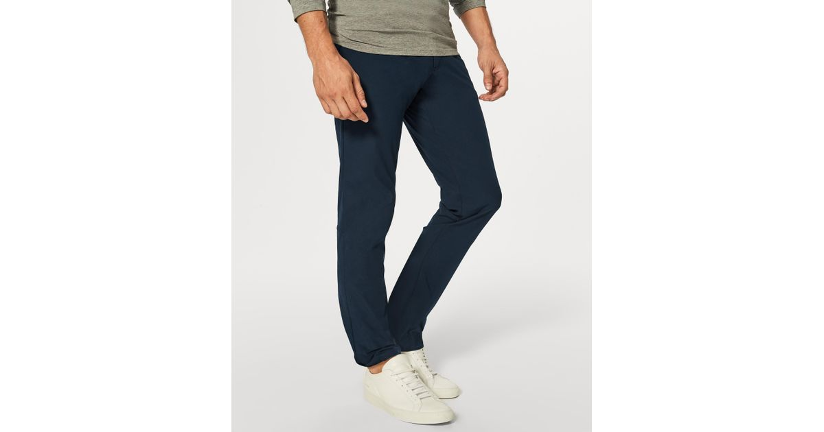 1245105b6 lululemon athletica Abc Pant (tall) in Blue for Men - Lyst