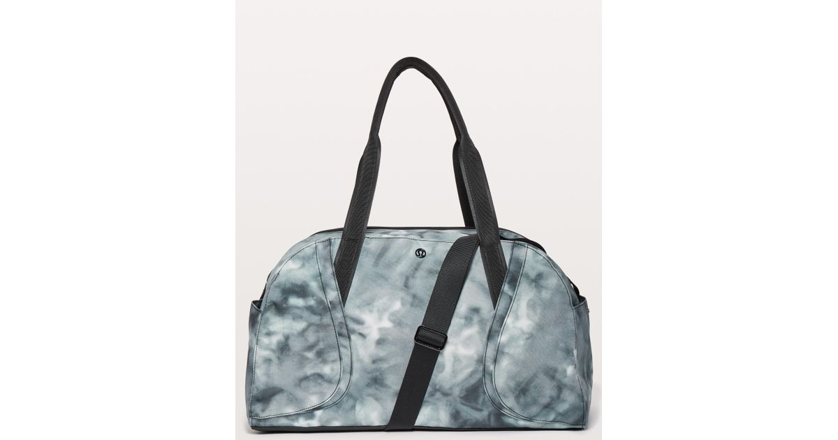 b1be98cd058 lululemon athletica Out Of Range Duffel *33l in Gray - Lyst