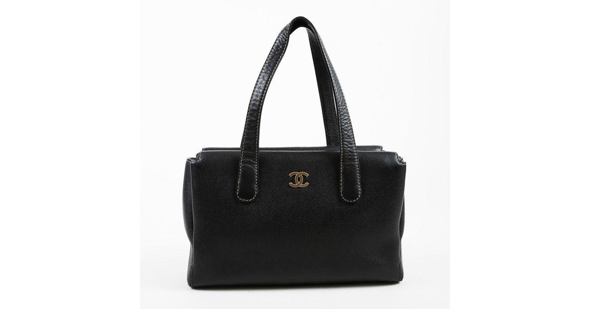 705e4560b63514 Lyst - Chanel Black