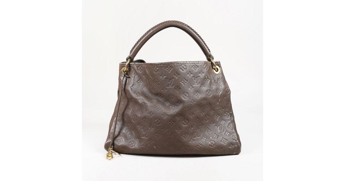 Lyst - Louis Vuitton Brown
