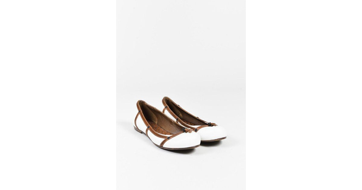 discount eastbay Bottega Veneta Leather Round-Toe Flats cheap sale outlet store outlet very cheap 1cpjs
