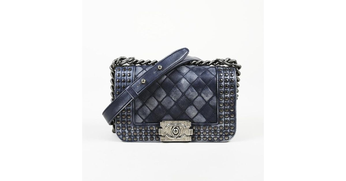 d3719cb737 Lyst - Chanel Quilted Leather