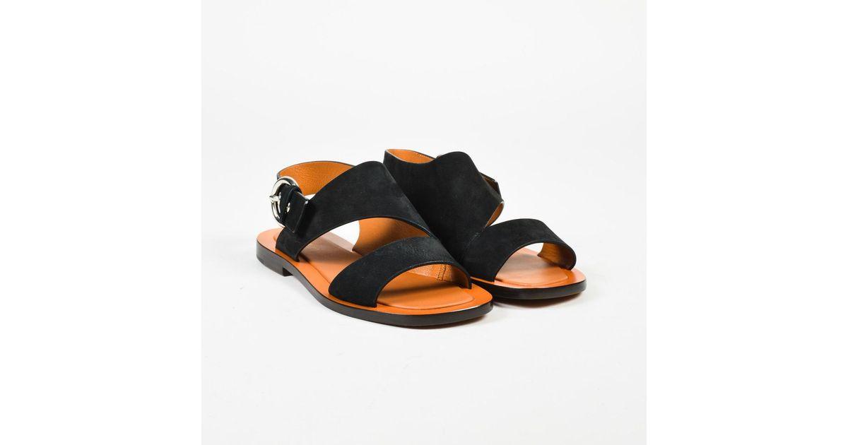 Céline Nubuck Slingback Sandals free shipping 2014 new Y7qtWN1