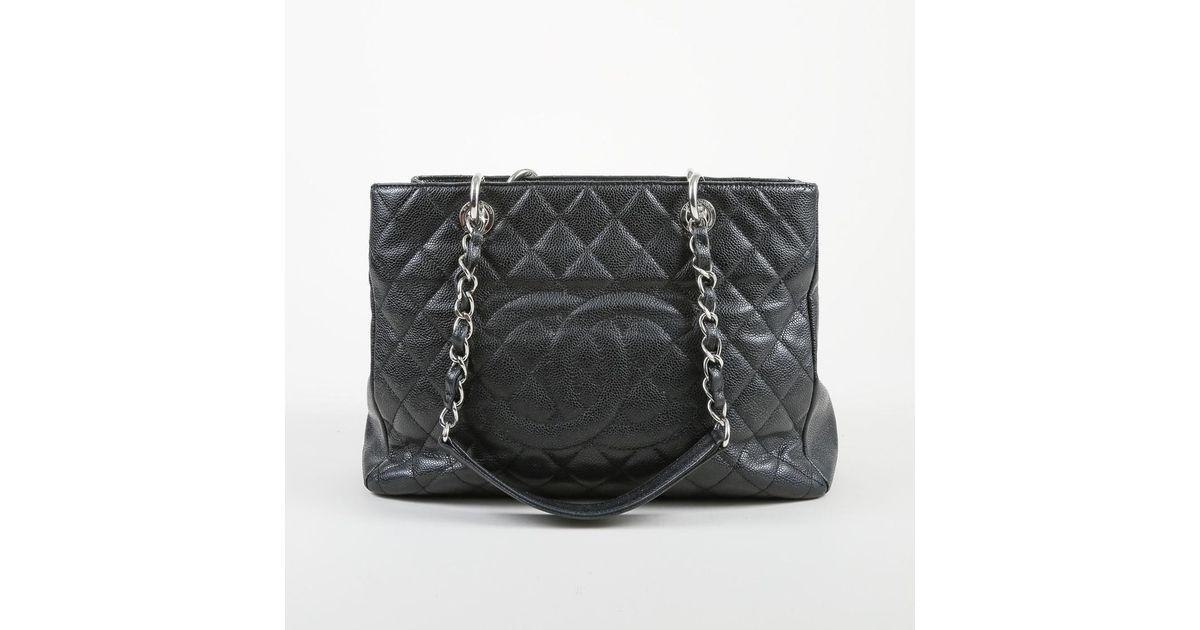 a2203acc4999 Chanel Black Quilted