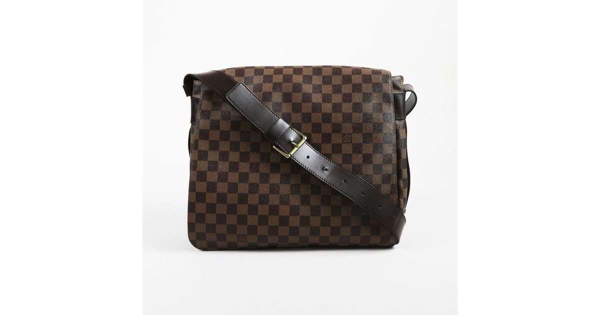 99a89e42785a Lyst - Louis Vuitton Vintage Brown Monogram