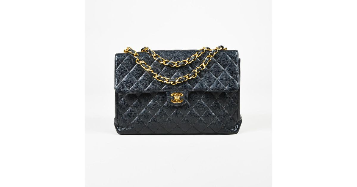 f428f9a38c68 Chanel Quilted Caviar Leather