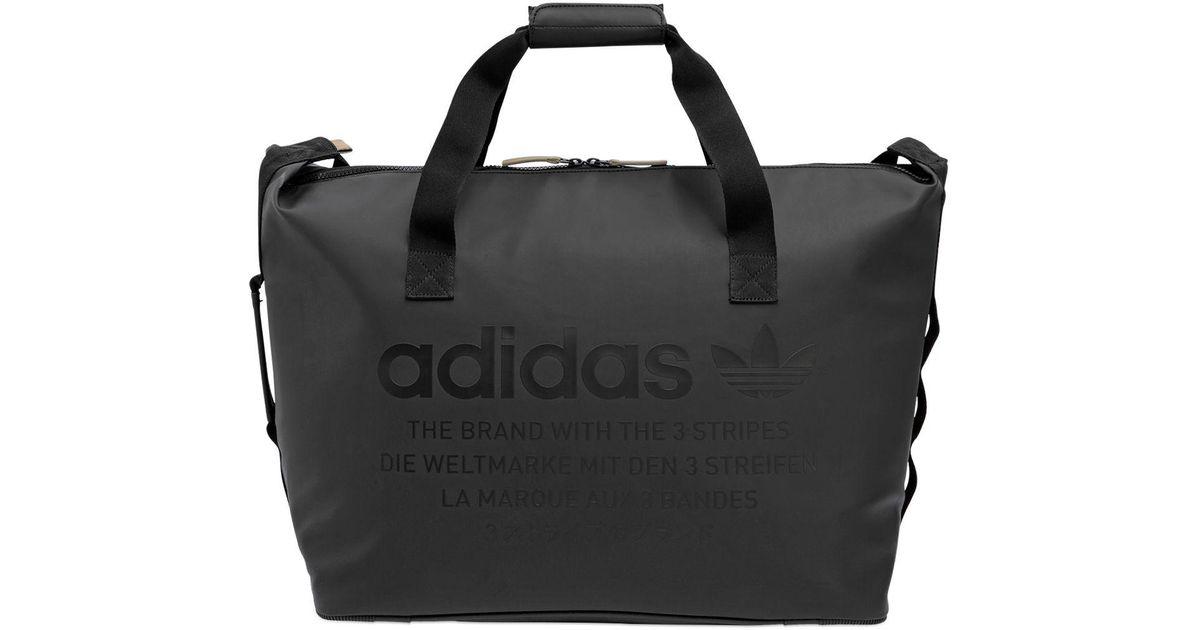 a455d36b6e2c Lyst - Adidas Originals Nmd Duffle Bag in Black for Men