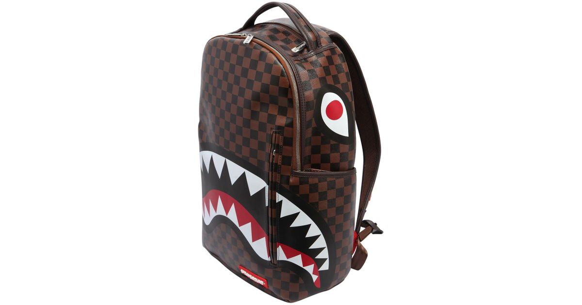 619450f29d8e Lyst - Sprayground Shark In Paris Faux Leather Backpack for Men