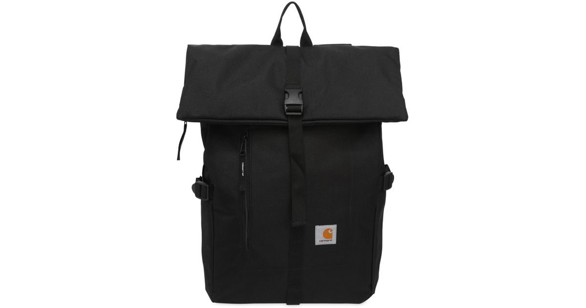 728165d9c4 Carhartt Phil Water Repellent Backpack in Black - Lyst